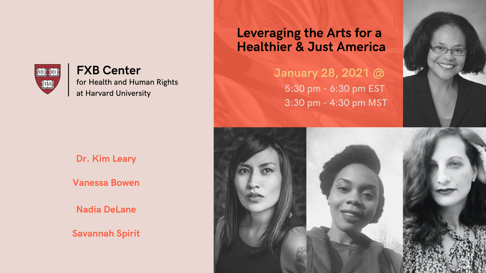 Leveraging the Arts for a Healthier & Just America