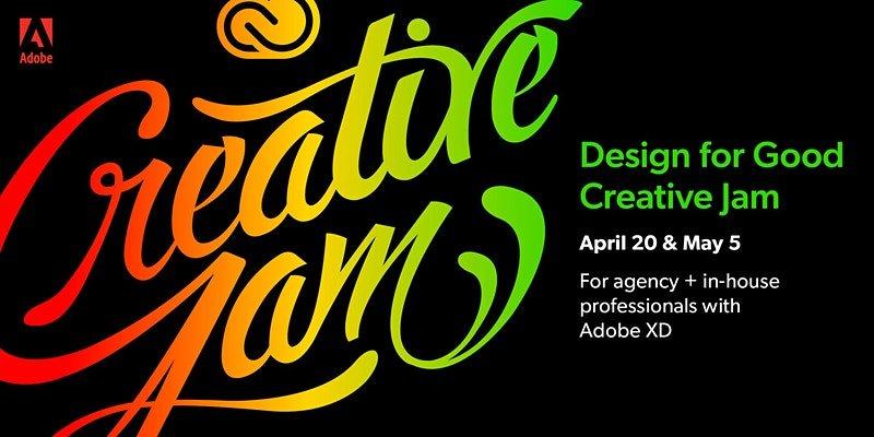 Design for Good Creative Jam with Adobe XD